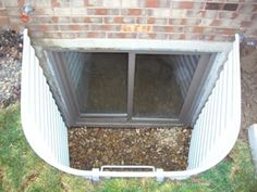 egress window kit for the basement for the home