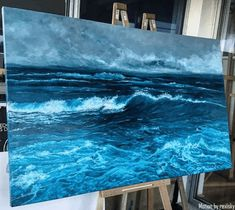 """rexisky:  """"An awesome sea painting by Vanessa Mae 