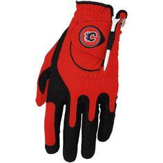 Calgary Flames Left Hand Golf Glove & Ball Marker Set - Red - $24.99