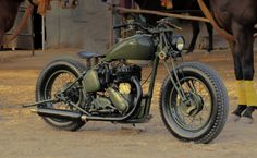 1942 BSA M-20 500cc WW-II Army Model