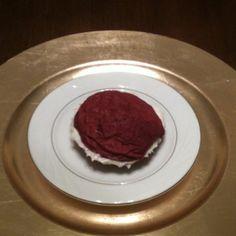 Red Velvet cream cheese sandwich cookies!!