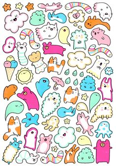 Cute doodle illustrations~