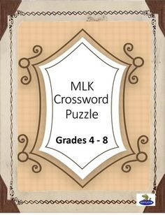 Medium difficulty crossword puzzles to print and solve volume 26 martin luther king jr crossword puzzle cross word based on dr martin luther malvernweather Image collections