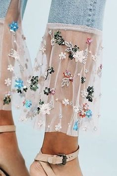 Have you seen this new spring trend? If you like the look & want to add some bling to your jeans, browse through our range of sequins, beads & jewels. Adult Crafts, Crafts For Kids, Craft Box, Craft Ideas, Spring Trends, Repurposing, Big Kids, Craft Supplies, Clever