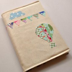 Chicken Ink. Creative patchworked notebook cover