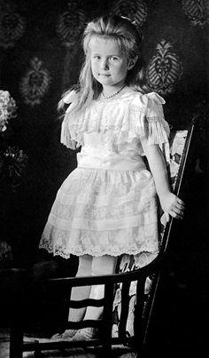 (1906) Grand Duchess Anastasia Nikolaevna, Tsar Nicholas ll. youngest daugther
