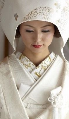 *白無垢綿帽子*