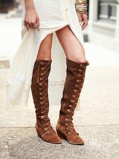 *Autumnn *Boots *Lace up *Brown *Shoes *Camel beige