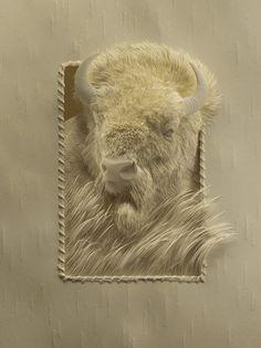 Intricate Cut Paper Artworks by Calvin Nicholls