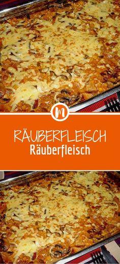 Räuberfleisch - New Site Hot Pepper Sauce, Lard, Party Finger Foods, Bratwurst, Stuffed Hot Peppers, Dessert Recipes, Desserts, Vegan Dinners, Macaroni And Cheese