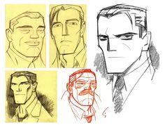 potatofarmgirl, charactermodel: Bruce Wayne, Batman, Gordon and...
