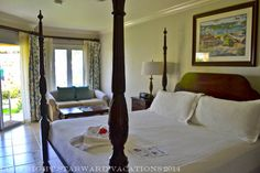 A typical suite at Sandals Whitehouse