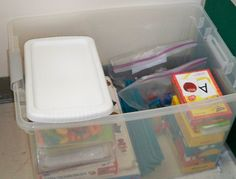 An ELL kit for differentiating lessons. Marvelous idea!