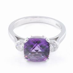 amethyst dress rings - Google Search