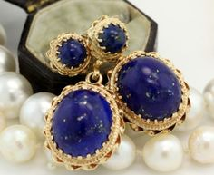 Antique C. 1860 Victorian 14k Gold S. Gamliel Carved Blue Lapis Lazuli Earrings! in Jewelry & Watches, Vintage & Antique Jewelry, Fine, Retro, Vintage 1930s-1980s, Earrings | eBay