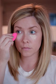 3 Tips for Perfect, Long-Lasting Concealer // by Kate Bryan at the Small Things Blog
