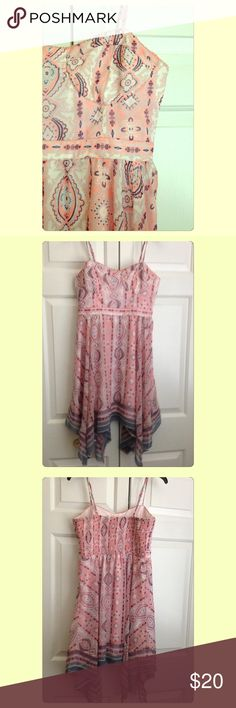{American Eagle} Boho Sundress Excellent used condition, no noted flaws. Pet and smoke free home. Looking to only sell on Posh! American Eagle Outfitters Dresses Midi