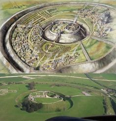 Old Sarum (Latin: Sorviodunum) is the site of the earliest settlement of Salisbury, in England. The site contains evidence of human habitation as early as 3000 BC. Old Sarum was originally an Iron age hill fort strategically placed on the conjunction of two trade routes and the River Avon.