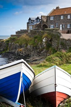 Craster Harbor, Northumberland, England