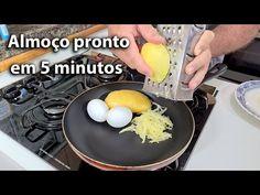 Apenas batatas e 2 ovos, você fará em 5 minutos! seu almoço - YouTube Crock, Eggs, Breakfast, Discovery, Youtube, Savory Foods, Tasty Food Recipes, American Apple Pie, Weight Loss Diets