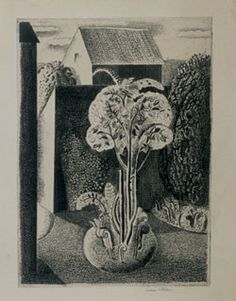 Graham Sutherland etching.