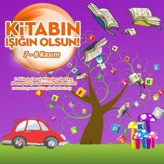 7. Dünya Çocuk Kitapları Haftası, 7 - 8 Kasım'da Neomarin Çocuk Kültür Merkezi'nde.