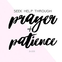 #mondaymotivation   No matter how difficult it may be, pray and ask for patience and peace. God will soon answer.  Want this as a print? Let us know!  Karamacompany.com  #karamaco    Sept charity: @humanrightswatch