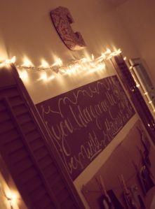 """Shutters for a """"headboard"""" and lots of other little DIY room decor ideas! PrettyLittleNeatFreaks.wordpress.com"""
