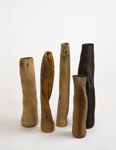 Wooden Sculpture & Vessels by Ernst Gamperl