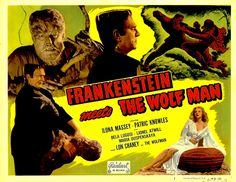 Frankenstein Meets the Wolf Man (1943) lobby card