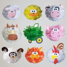 Baby animals farm birthday parties 58 Ideas for 2019 Farm Animal Party, Farm Animal Birthday, Barnyard Party, Farm Birthday, Farm Party, 2nd Birthday Parties, Safari Decorations, Birthday Party Decorations, Table Decorations