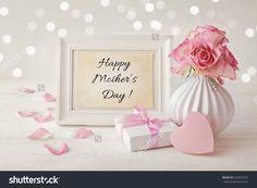 Happy Mothers Day Frame Background Стоковые фотографии 410442562 : Shutterstock