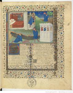 Guillaume de Lorris et Jean de Meun, Le Roman de la rose ; Le Testament, le Codicille et le Trésor attribués à Jean de Meun.  Date d'édition : 1401-1425   http://gallica.bnf.fr/ark:/12148/btv1b6000295v/f7.highres