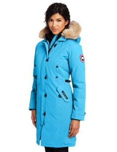 Canada Goose Women's Kensington Parka Coat In Summit Pink Canada Goose Women, Canada Goose Jackets, Moncler Jacket Mens, Kensington Parka, Fashion Lookbook, Fashion Trends, Fashion Models, Thing 1, Parka Coat