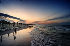 Sunset - Mamaia beach, Romania