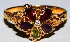 Stunning Victorian Regard Ring