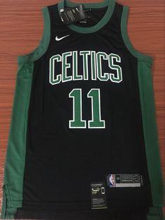 Men 11 Kyrie Irving Jersey Black Boston Celtics Swingman Jersey Fanatics 6b5207cb7