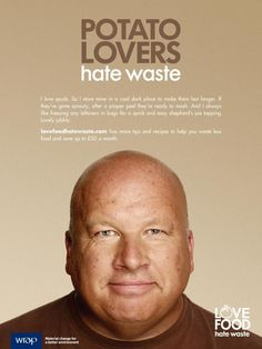 Potatoes! All about potatoes! Love Food Hate Waste campaign http://england.lovefoodhatewaste.com/