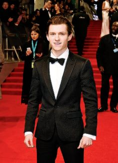 Tom Holland attends the 70th EE British Academy Film Awards at Royal Albert Hall on February 12, 2017 in London, England.