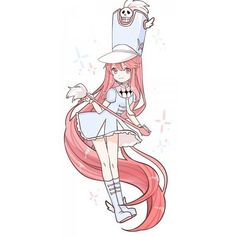 Jakuzure Nonon ❤ liked on Polyvore featuring anime