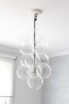 DIY-lampan på plats