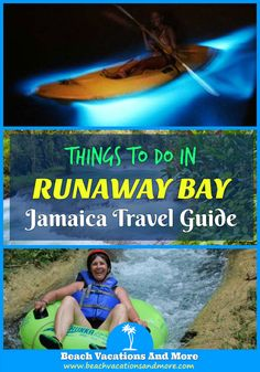 Top fun things to do in Runaway Bay, Jamaica on vacation - Ziplining, day trips, Outdoor Activities, cruises, water sports and more activities and attractions