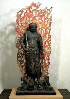Standing Fudo Myo-o (Acalanatha)   Heian Period, 11th century, Tokyo National Museum