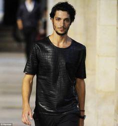 $91,500 Swag? Hermes Crocodile Skin T-Shirt - Unfinished Man