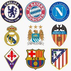 gambar logo atau lambang klub sepakbola  dari www.anakcemerlang.com