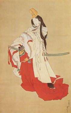 Shirabyoshi dancer, Katsushika Hokusai poster