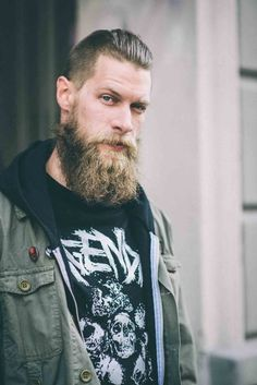 Tommy Cairns photographed Bent Ronde from Oslo, Norway as part of Beardbrand's UK-based beard care website. View the full gallery and info at UrbanBeardsman.com.  Shop at Beardbrand.co.uk!