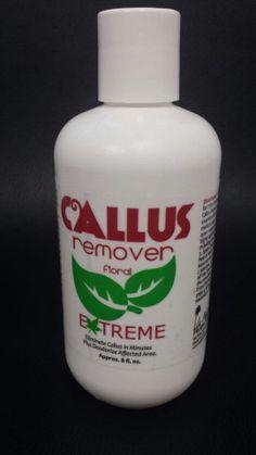 New La Palm Callus Remover Extreme  Eliminate Callus In Minutes 8 floz