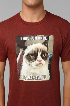 #GrumpyCat #movieTEE #MENS #Fashionable Grumpy Cat movie of T-Shirt Round neck T - Shirts, lapel T - Shirts, Fabrics is comfortable, design generous - See more at: http://www.iteemart.com/mens/Mens-Movie/Grumpy-Cat/-Grumpy-Cat-Father-T-Shirts-EOZC-569767