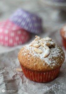 nektarinen mandel muffins rezept